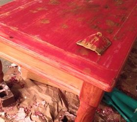 also whatu0027s the best way to sand and remove paint from rounded surfaces like the coffee table legs thanks - How To Refinish Wood Table