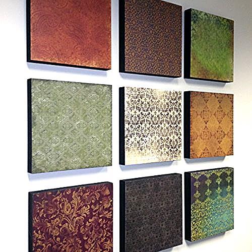Diy Wall Decor Using Scrapbook Paper : Diy wall art with scrapbook papers hometalk