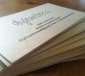 Make Your Own Business Cards For Cheaper Hometalk