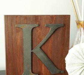 Diy Industrial Rustic Monogram Sign, Crafts, Rustic Furniture