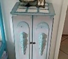 moms jewelry armoire, chalk paint, painted furniture