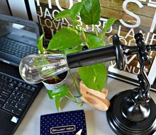 restoration hardware inspired industrial task lamp, diy, lighting