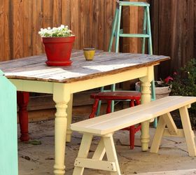 Outdoor Patio And Garden. Make From Recycled Junk Hometalk, Garden Idea