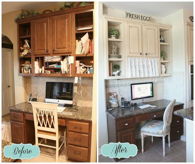 Easy Kitchen Backsplash Makeover: Builder Grade Kitchen Makeover Part 2