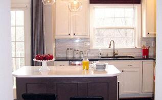 diy kitchen renovation, home decor, kitchen backsplash, kitchen design, kitchen island, painting