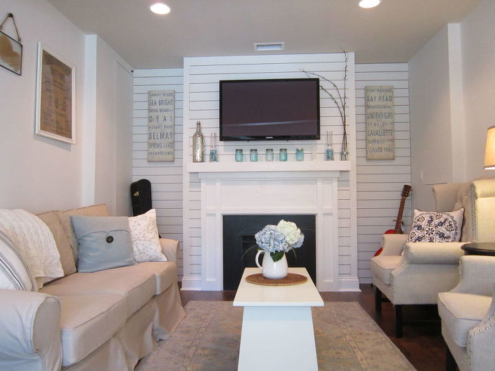Garage converted to a family room hometalk for Garage family room
