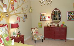 fun girls rooms i painted, bedroom ideas, painting
