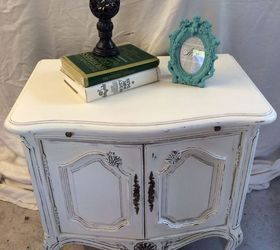 Marvelous Shabby Chic Side Table, Painted Furniture, Shabby Chic