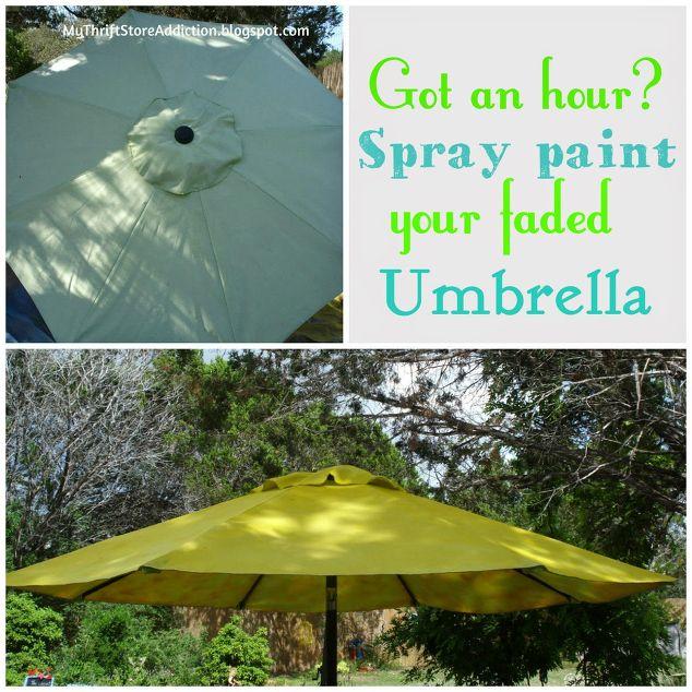 Patio Umbrella Hacks: Easy Patio Umbrella Upgrade!