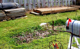 i am off to a start on my recycled greenhouse, gardening, home improvement, outdoor living