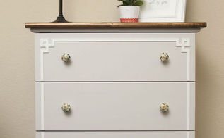 ikea hack tarva dresser, painted furniture, repurposing upcycling, Ikea Hack Tarva Dresser