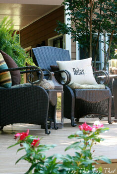 my backyard paradise, decks, outdoor living, ponds water features, My Backyard Paradise