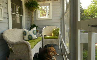 my teensy little front porch, porches, Inspiration Pillow For the Color Scheme of the Porch