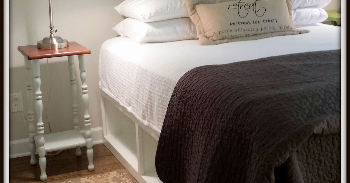 Pottery Barn Knockoff Storage Bed Hometalk