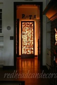 my illuminated photo door, crafts, doors, foyer