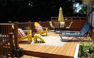 rebuilding our deck, decks, diy, home improvement, outdoor living