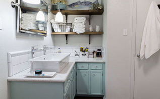 brian kaylor master bathroom reveal diylikeaboss, bathroom ideas, painted furniture, painting, small bathroom ideas