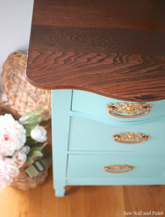Fab Furniture Flippin Contest Key West Blue Dresser