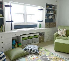 A Vintage Modern Nursery, Bedroom Ideas, Home Decor, Painting, Wall Decor Part 59