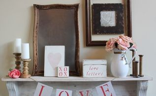 using cereal boxes for valentine s day decor, crafts, repurposing upcycling, seasonal holiday decor, valentines day ideas