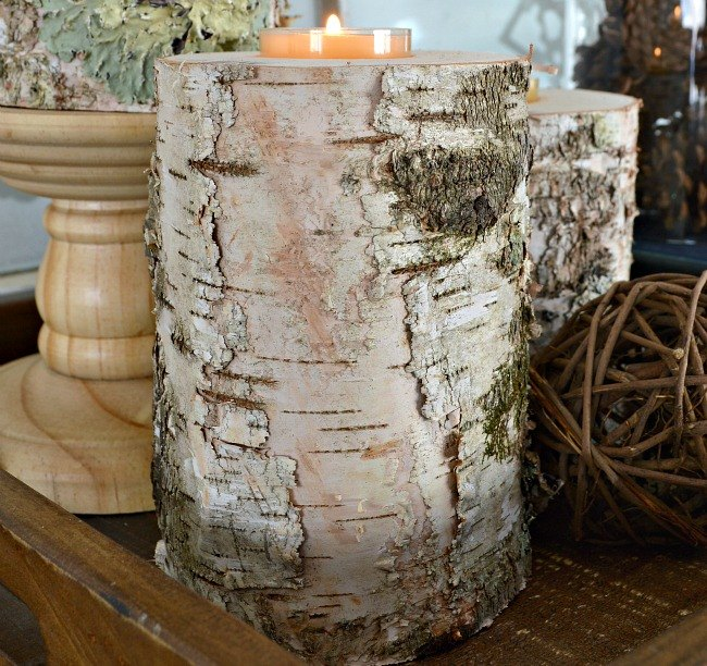 rustic wood candle holders 2 ways hometalk