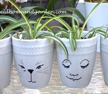 mug pots, container gardening, crafts, gardening, Mug Pots easy and fun to make