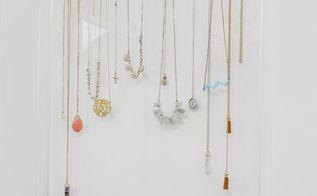acrylic gold jewelry organizer, crafts, organizing, storage ideas