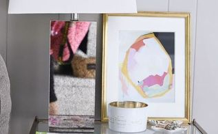 diy black lampshade with gold liner, crafts, how to