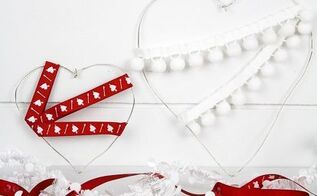diy wire hearts, crafts, seasonal holiday decor, valentines day ideas