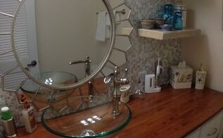 Small Half Bathroom Remodel diy small half bath remodel!   hometalk