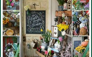 around the potting shed a year in review, container gardening, gardening, outdoor living