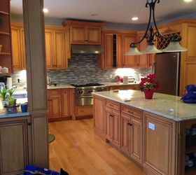Victoria S Kitchen Cabinet Painting Transformation, Kitchen Cabinets,  Kitchen Design, Kitchen Island,