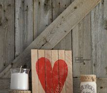 easy valentine decor, seasonal holiday decor, valentines day ideas, woodworking projects