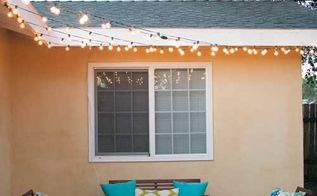 how to install patio lights, home improvement, how to, lighting, outdoor living