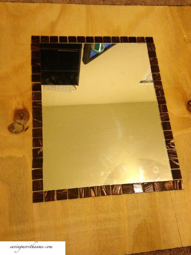Diy Wall Art That Looks Expensive : A diy mosaic mirror that only looks expensive hometalk