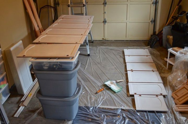 how to use tsp before painting cabinets