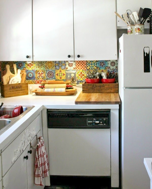 how to decorate generic apartment kitchens diy home decor how to kitchen - Apartment Diy Decor