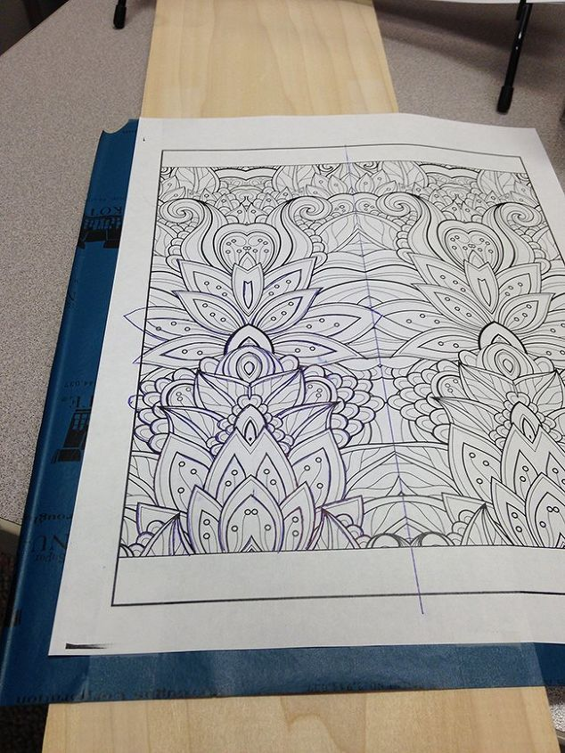 Coloring Book Patterns On Wood Hometalk