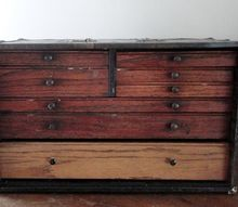 turn an antique dentist cabinet into a jewelry box, chalk paint, decoupage, repurposing upcycling, Antique Dental Cabinet