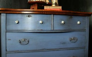 what to do with this rather dirty and sticky dresser, chalk paint, painted furniture, rustic furniture