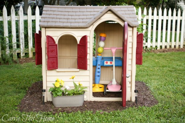 Quick And Easy Playhouse Makeover Hometalk