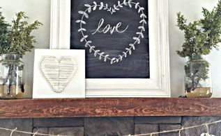make heart garland from olf book pages, crafts, repurposing upcycling, seasonal holiday decor, valentines day ideas