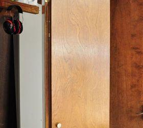 Update Dark Wood 1970 S Bi Fold Closet Doors, Closet, Doors, Painting