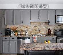our kitchen cabinet makeover, diy, kitchen cabinets, kitchen design, painting