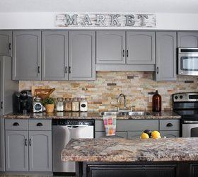 Elegant Our Kitchen Cabinet Makeover, Diy, Kitchen Cabinets, Kitchen Design,  Painting