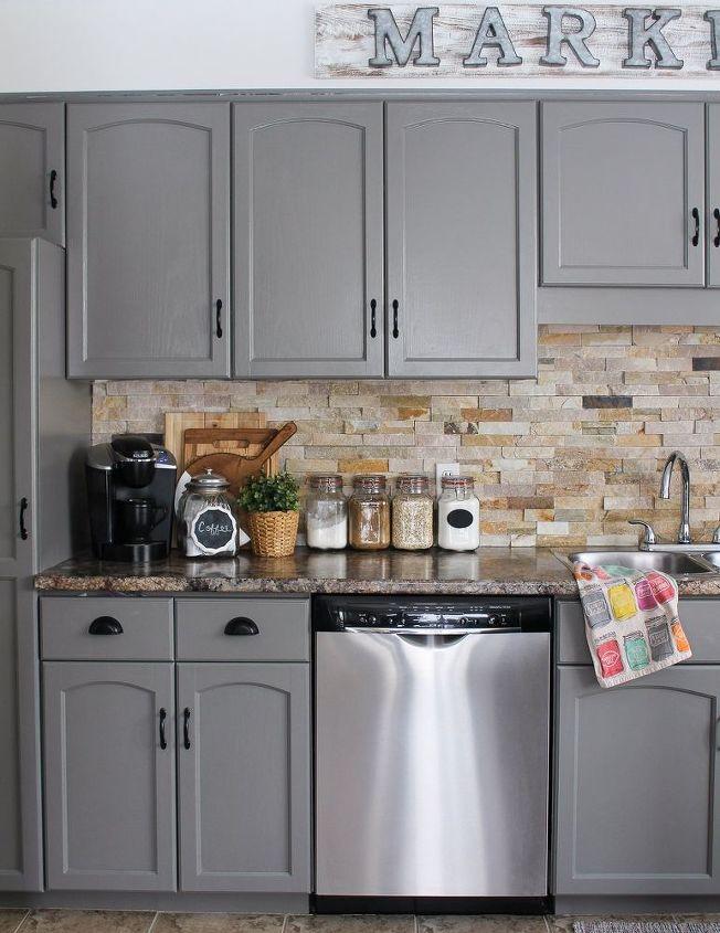 our kitchen cabinet makeover, diy, kitchen cabinets, kitchen design,  painting - Our Kitchen Cabinet Makeover Hometalk