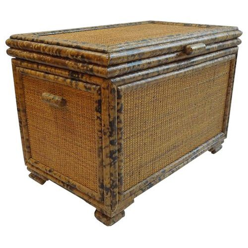 HELP What to do with this old wicker chest