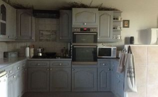 old french farmhouse, kitchen design, painting, rustic furniture