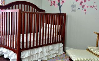 baby nursery makeover on a budget, bedroom ideas