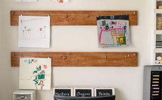 kid s art display, crafts, wall decor